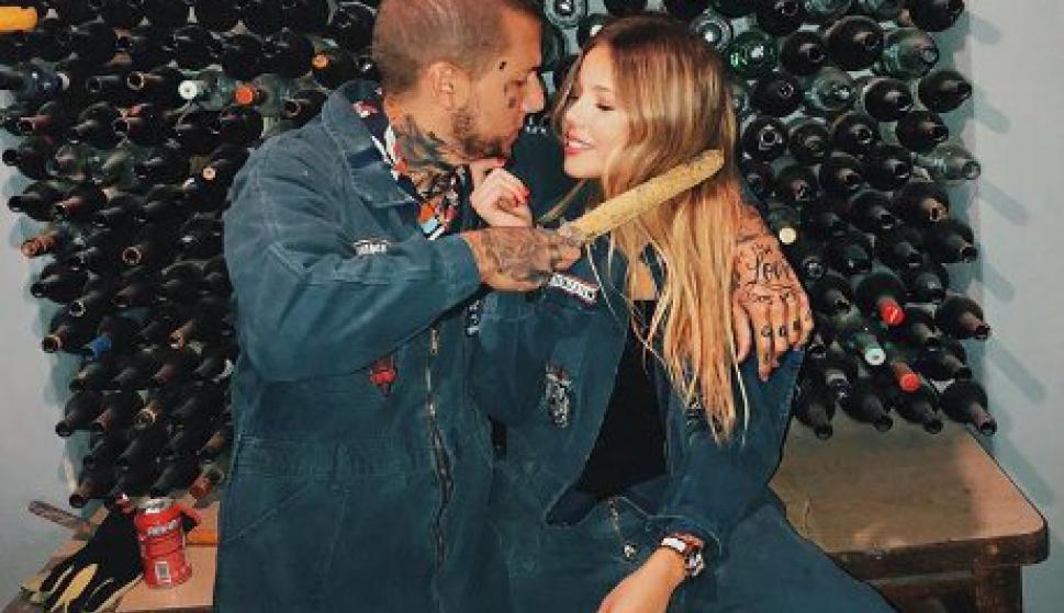 Alex Caniggia presentó a su novia, la ex de Tomi Narbondo ...