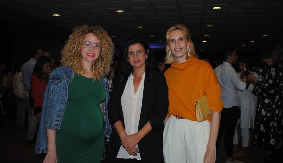 Mónica Zanocchi, Mery Sanguinetti, Natalia Jinchuk.