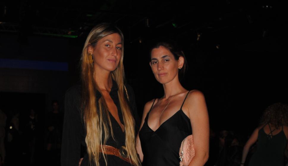 Natalia y Verónica de la Fuente.