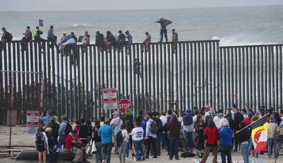 Resultado de imagen para frontera de estados unidos y mexico