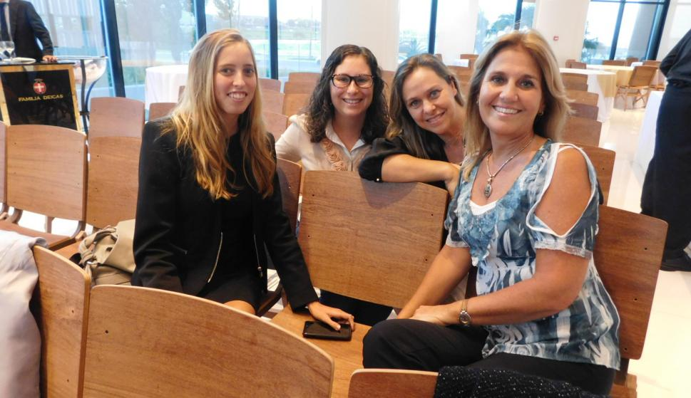 Lucien Dzimalkowski, María Angelica Aldecoa, Gabriela Monforte, Adriana Duarte.
