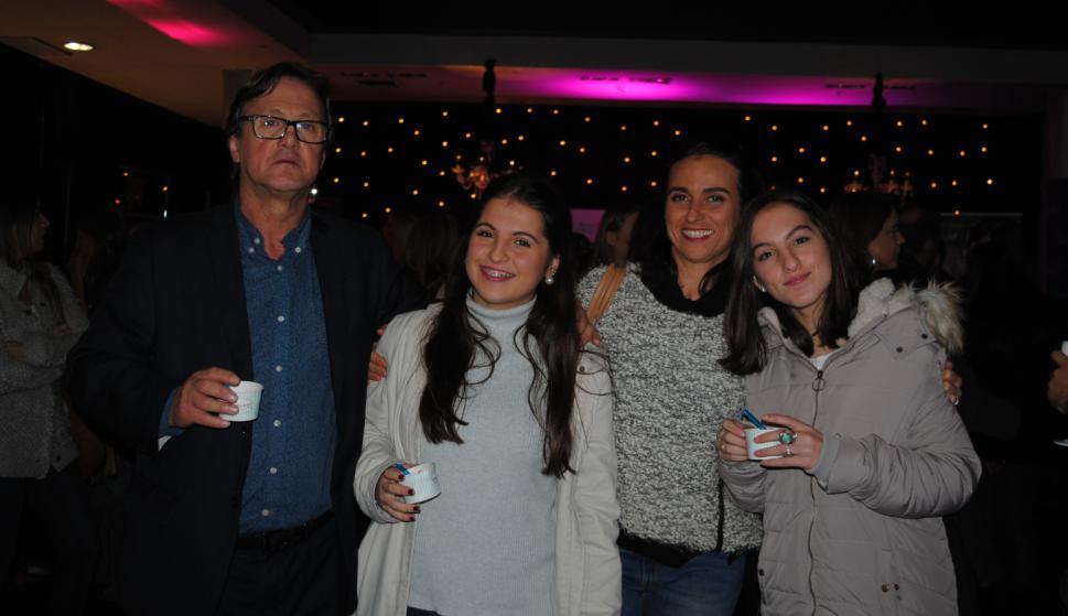 Alfredo y Renata Bertucci, Cecilia Ferreira, Margarita Bertucci.