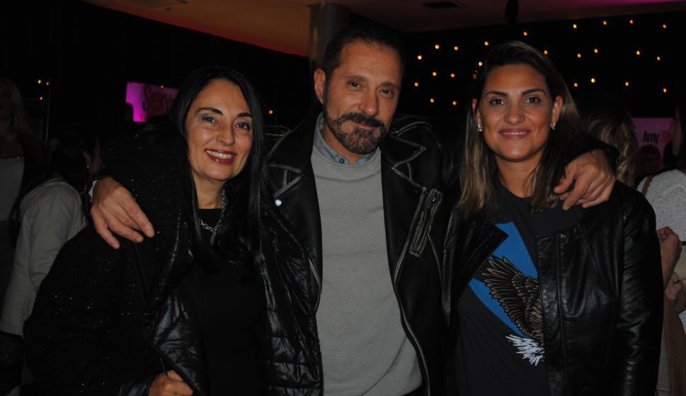 Perla Chahalitha, Pablo Suárez, Tammara Benasus.