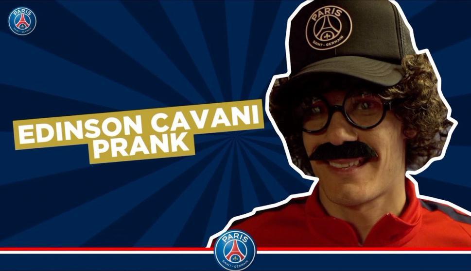 Cavani se disfrazó para una broma en el PSG - Marca Personal ...
