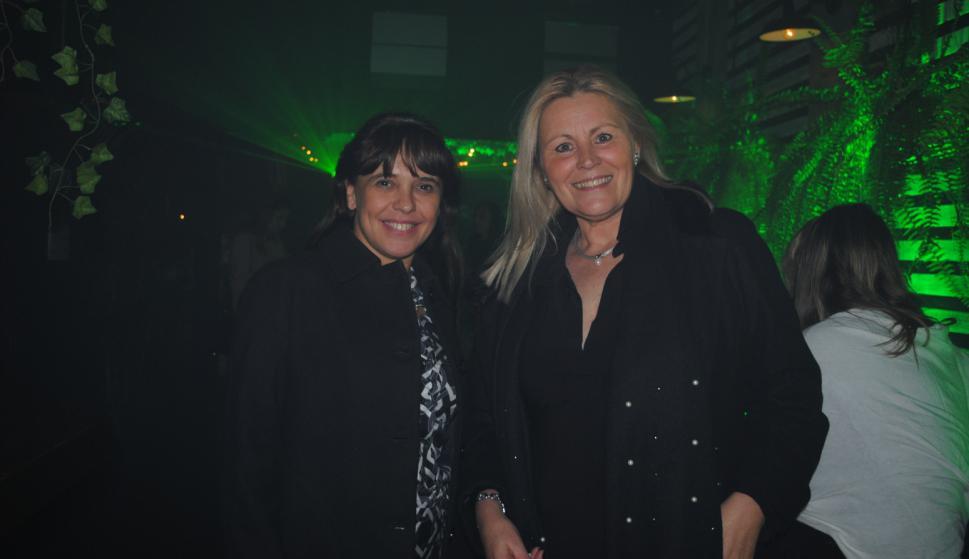 Patricia Pérez, Eliana Cabrera.