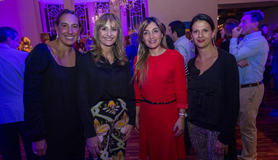 Andrea Cintas, Laura Raffo, Alejandra Gambella, Carla Orellano.