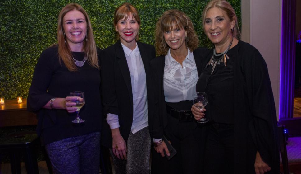 Beatriz Viera, Ximena Torres, Silvina Rocha, Elena Tejeira.