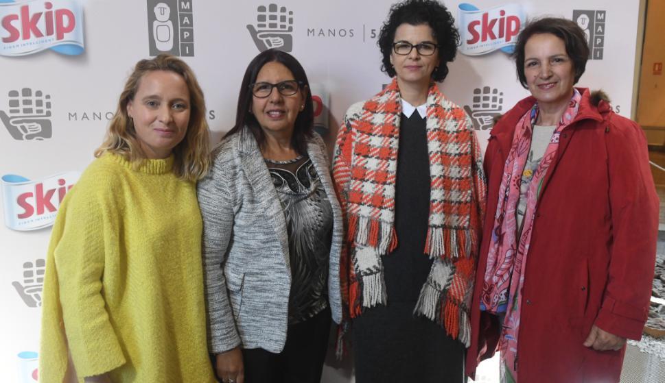Cecilia Lalonne, Eloina Morales, Ana Deprado, Elisabeth Sosa.