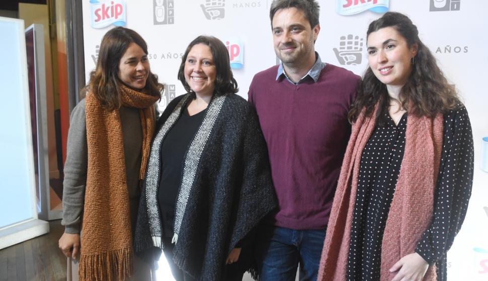 María Gracia Pérez ,María Dutra, Luis Bergata, Lucía Benítez.