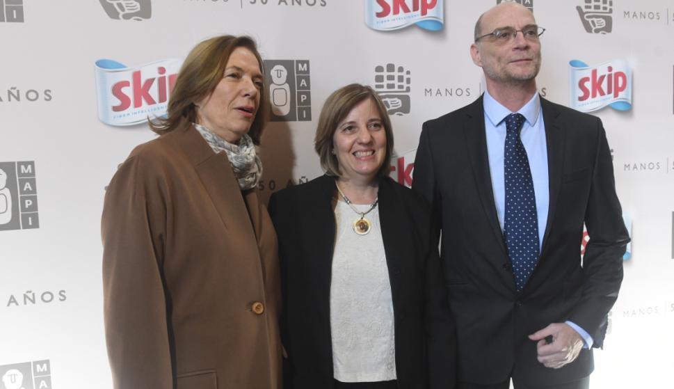 Rosario Medero, Graciela Cabrera, Rodolfo Giocia.