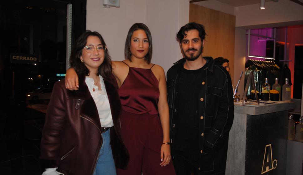 Alejandra Pintos, Romina Díaz Cibils, Joaquín Delgado.