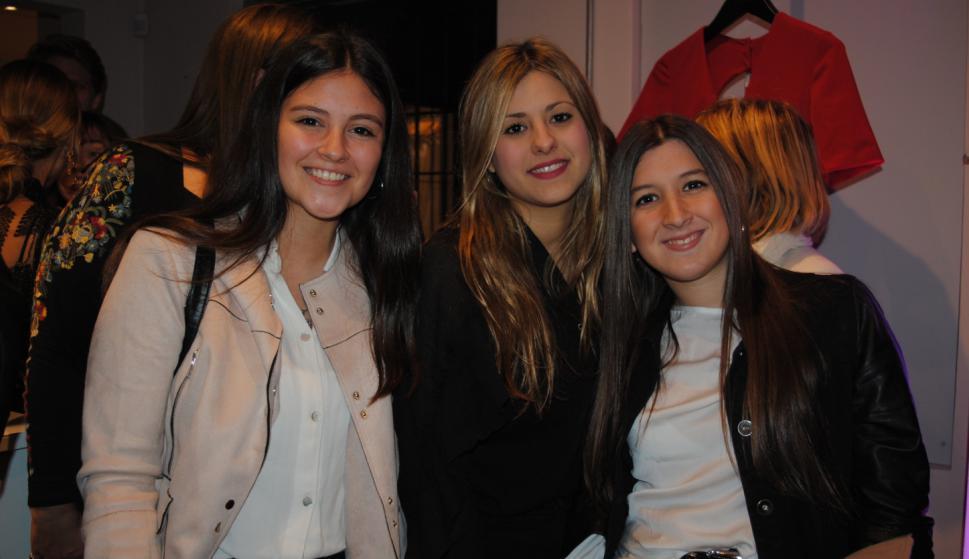 Lucía Ruppel, Noelia Carballo, Lucía Igarzabal.