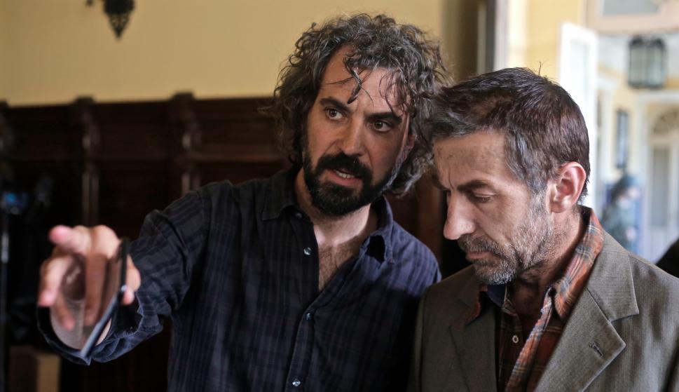 Álvaro Brechner junto al actor español Antonio de la Torre, quien interpreta a José Mujica