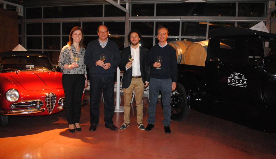 Cristina Santoro, Eduardo Boido, José Manuel Bouza, Nestor Merino.