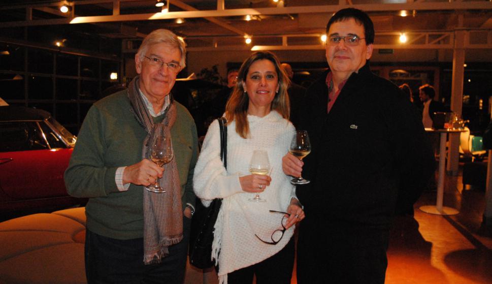 Eduardo Lanza, Patricia Cruz, Raul Louzan.