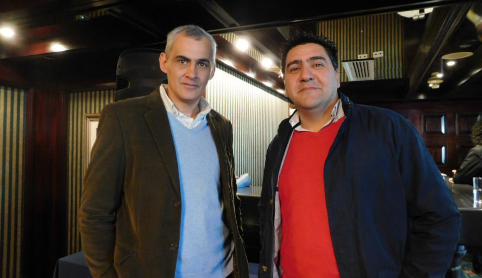 Gerard Da Silva, Alvaro Machado.