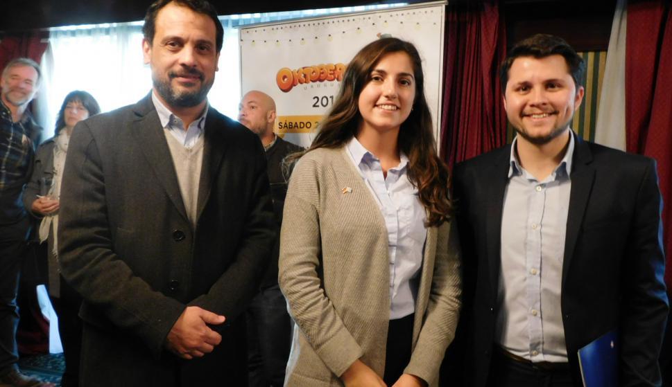 Osvaldo León, Irene Tayler, Carlos Eguiluz.