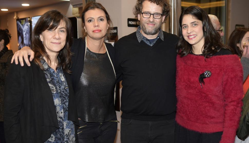 Florencia Beltrán, Agustina Chiarino, Fernando Epstein, Leticia Coronel.
