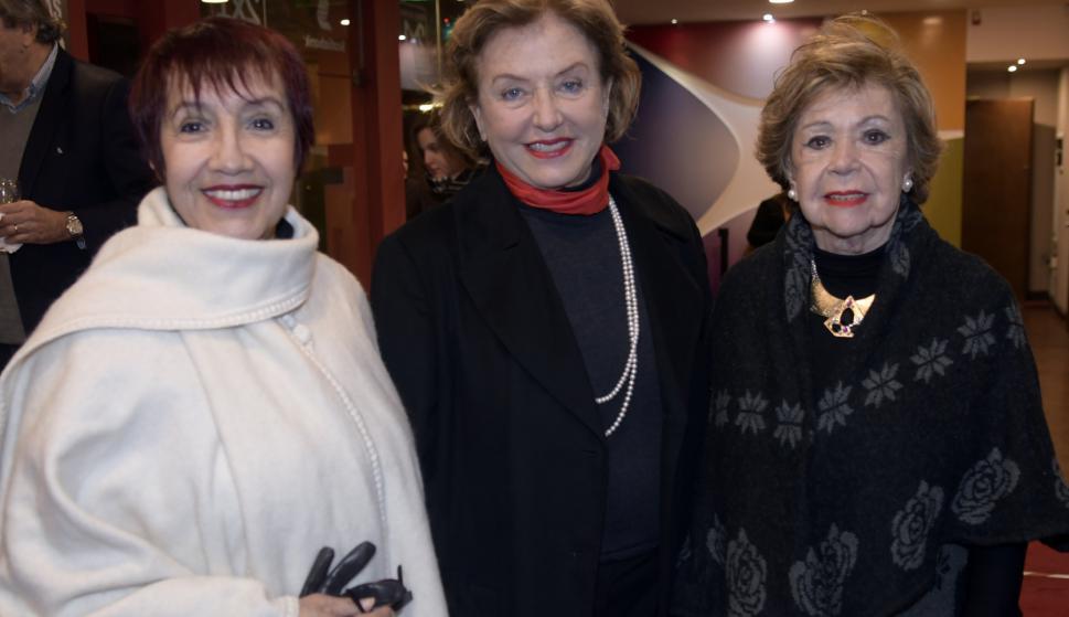 Margarita Irum, Ana Bruno, María Martins.