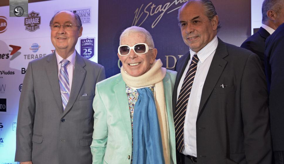 Carlos Guariglia, Carlos Perciavale, Horacio Sardeña.