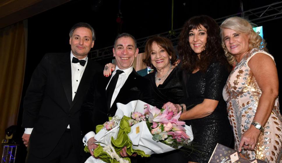 Juan Herrera, Nacho Cardozo, Cristina y Carmen Morán, Virginia Moreira.