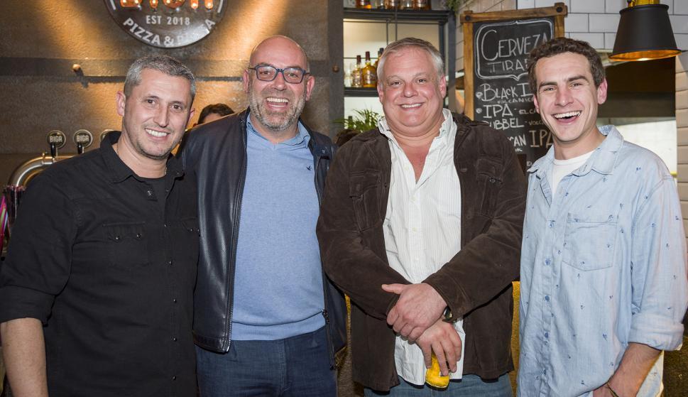 Carlos Giordano, Fernando Llorach, Jorge Oyenard, Sebastián Minteguiaga.