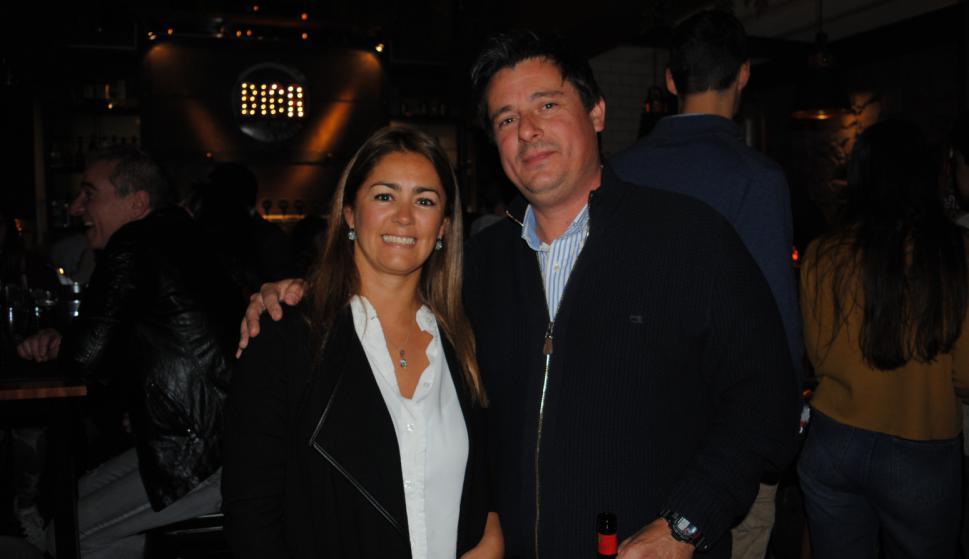 María José Gadea, Alejandro Suárez.