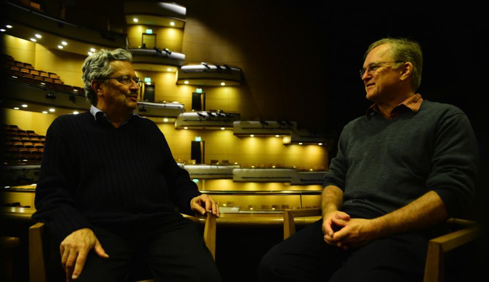 Lee Holdridge y Richard Sparks