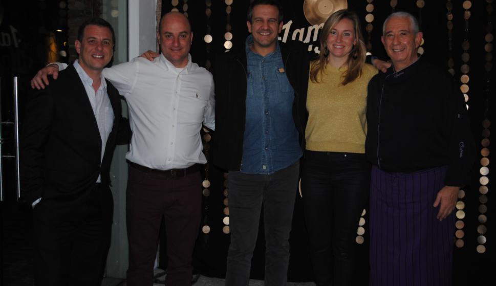 Alejandro Dellature, Tomás Bameule, Pablo Soldo, Cecilia Brignoni, Sergio Puglia.