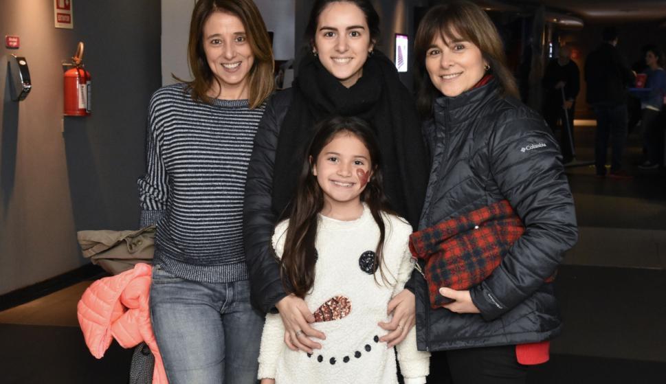 Gabriela Rey , Martina Novas, Francesca de Tomaso , Marcela Rey