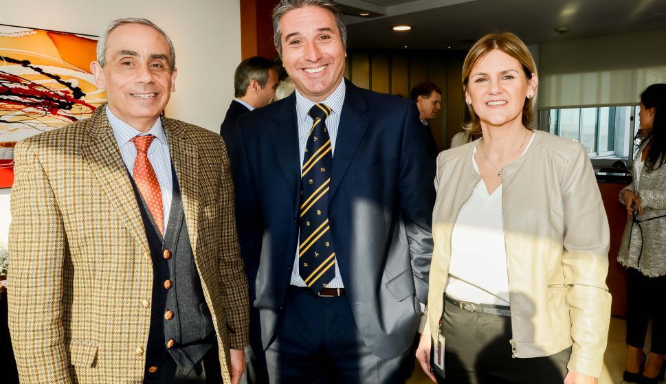 Claudio Ruibal, Gustavo Trelles, María de la Paz Goldaracena
