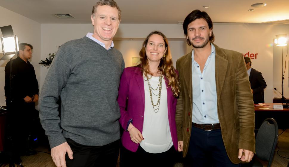 Enrique Topolansky, Anna Chiara Ortolani, Diego Piuma.