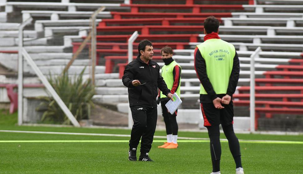 Jorge Giordano se hizo cargo de River Plate. Foto: Francisco Flores
