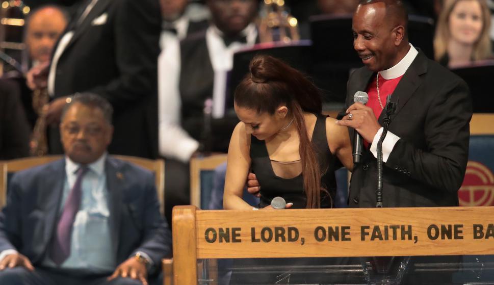 ¿Ariana Grande fue acosada en el velorio de la cantante Aretha Franklin  -  Musica - Tvshow - Últimas noticias de Uruguay y el Mundo actualizadas -  Diario EL ... 22feb646ea6