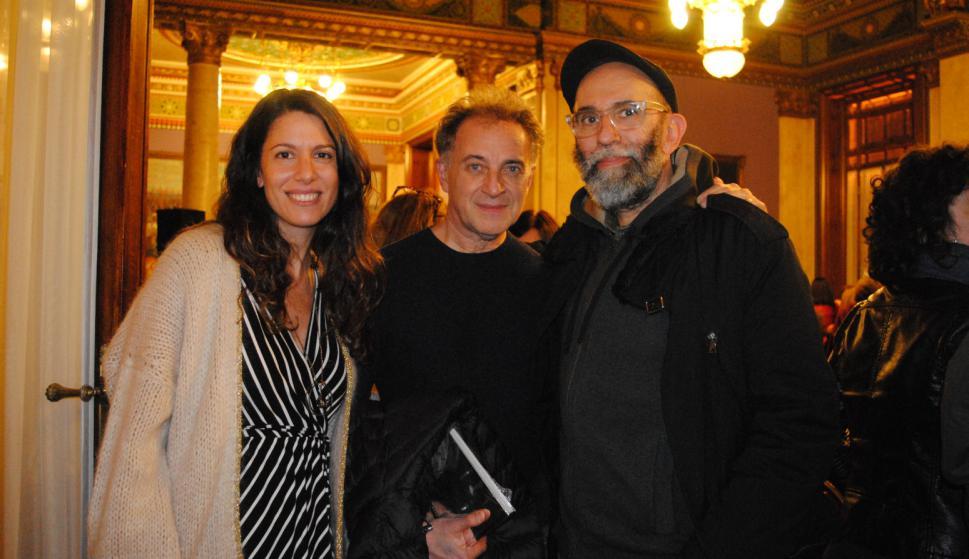 Carolina Gazzaneo, Gabriel Valansi, Diego Masi.