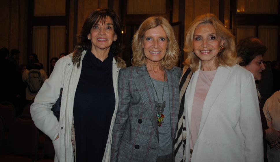 Mónica Baudson, Cristina Guria, Graciela Rompani.