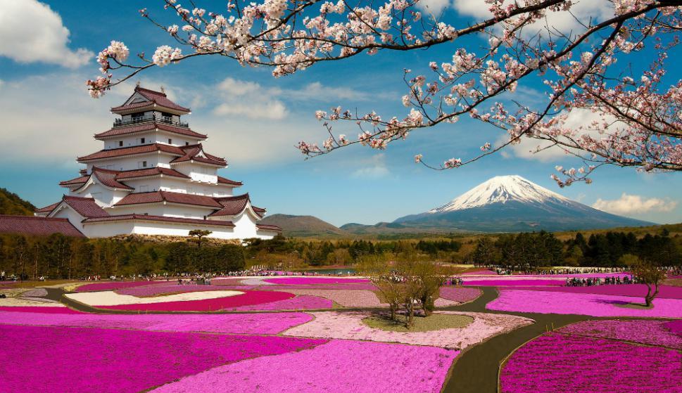 En Japón todos los parques, plazas y calles son prolijas.