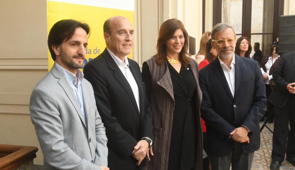 Facundo Almeida, Daniel Martínez, Embajadora De Colombia Natalia Abello, Pedro Ruiz.