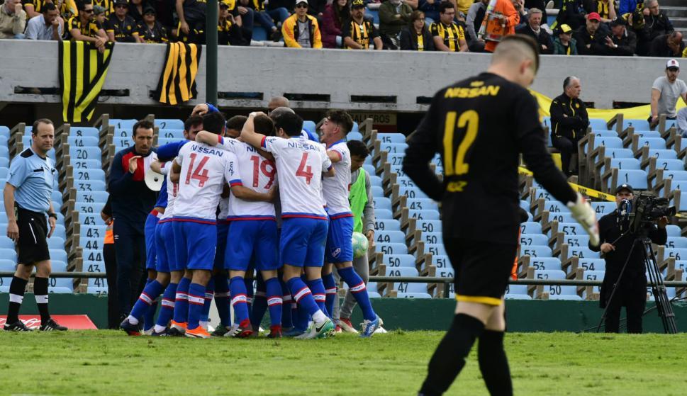 Clásico peñarol vs Nacional. Foto: Leonardo Maine
