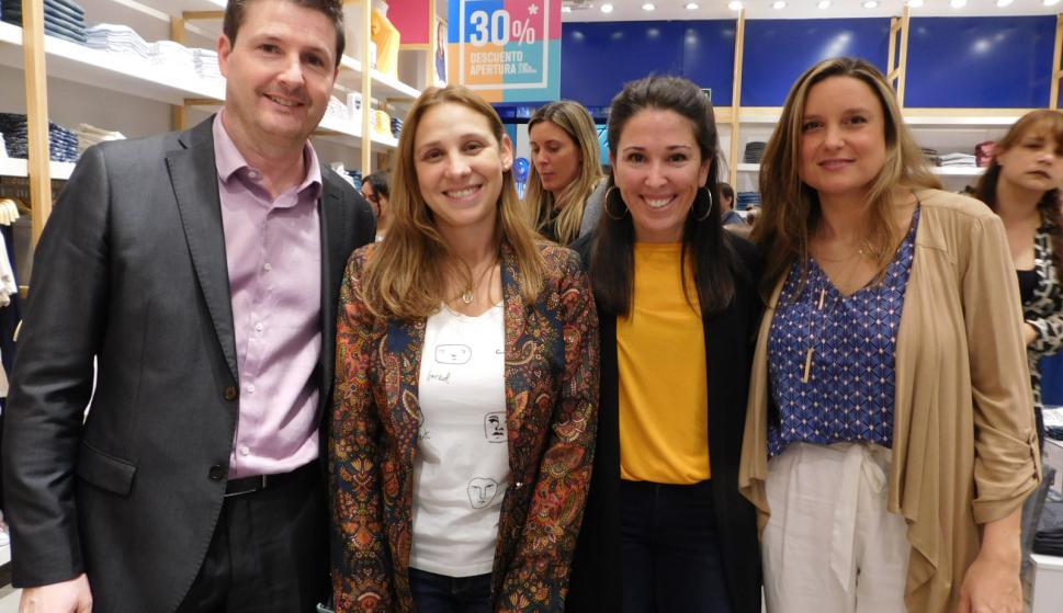 Rodrigo Ferreiro, Carolina De León, Ximena Quintas, Magdalena Mutio.