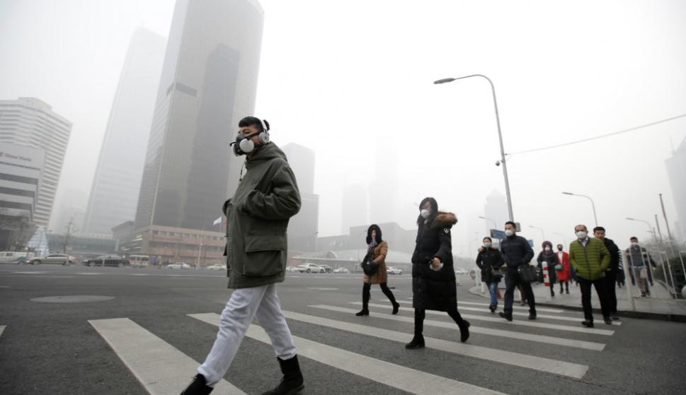 La mayoría de la población mundial respira aire contaminado. Foto: Reuters