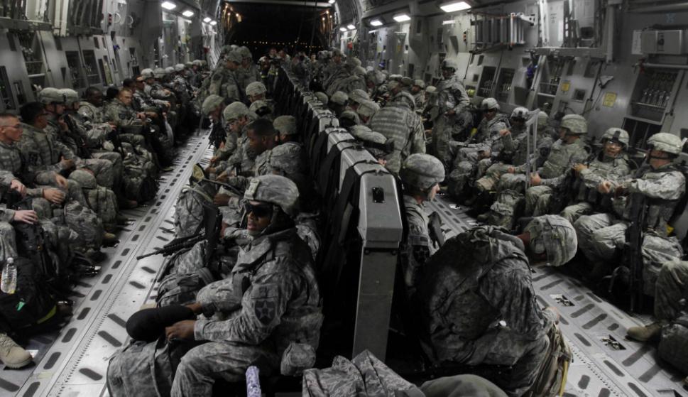 Desembarco: los efectivos estadounidenses estarán apostados en Uruguay desde el 26 de este mes hasta el 3 de diciembre. Foto: AFP