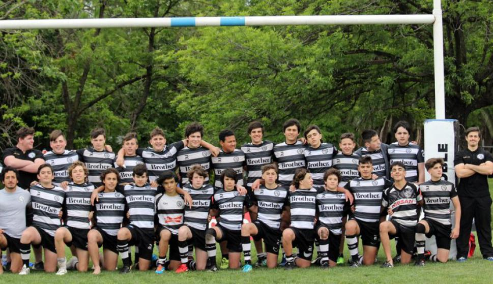 El plantel de rugby del Círculo de Tenis de Montevideo. Foto: @ctmrugby.