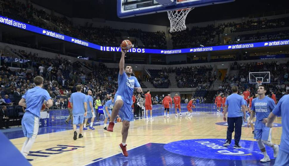 Image result for uruguay basquetbol antel arena