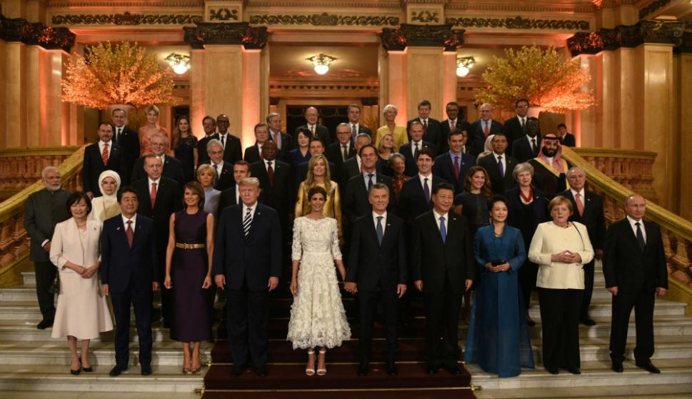 Teatro Colón: los líderes del G20 disfrutaron de un espectáculo en el histórico escenario de Buenos Aires. Foto: Reuters