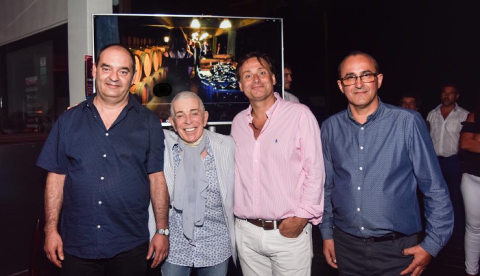 Juan Pedro Santini, Carlos Perciavalle, Juan Herrera, Fernando Caetano.