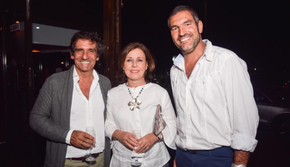 Martín Laventure, Isabel Regent, Rodrigo Zeballos.