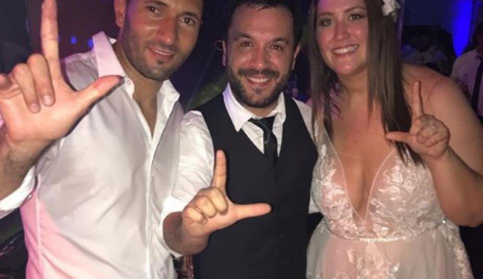 El casamiento de Martín Campaña y su novia Valentina Viera