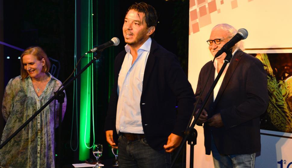 Marcelo Gallardo en la entrega de premios de la Encuesta El País. Foto: Gerardo Pérez