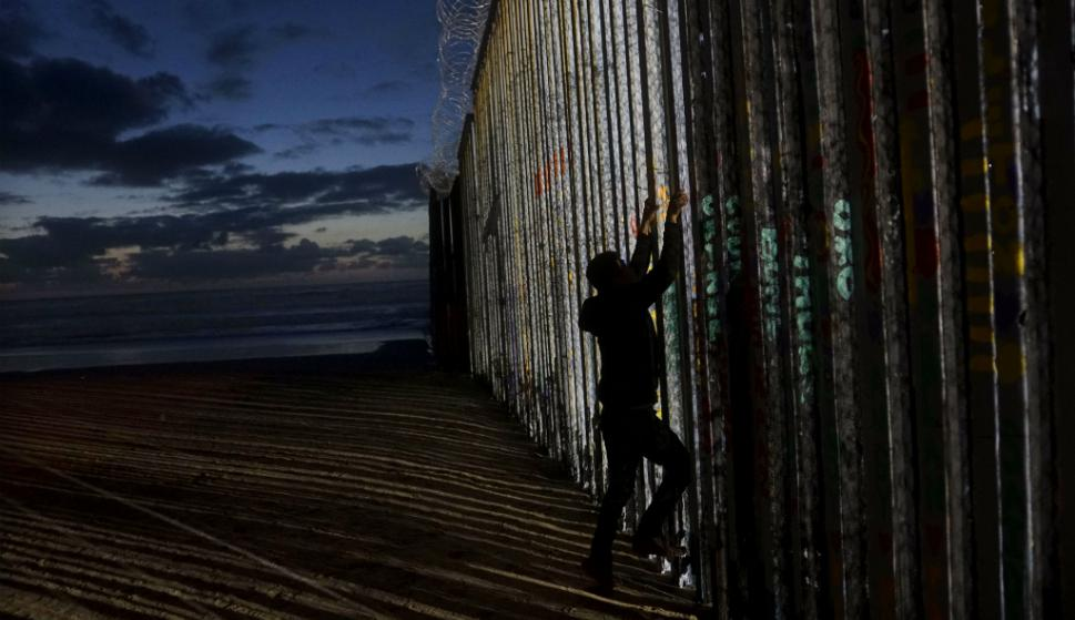 La valla que proyecta Trump en la frontera sur tendrá un costo de US$ 5.700 millones. Foto: AFP
